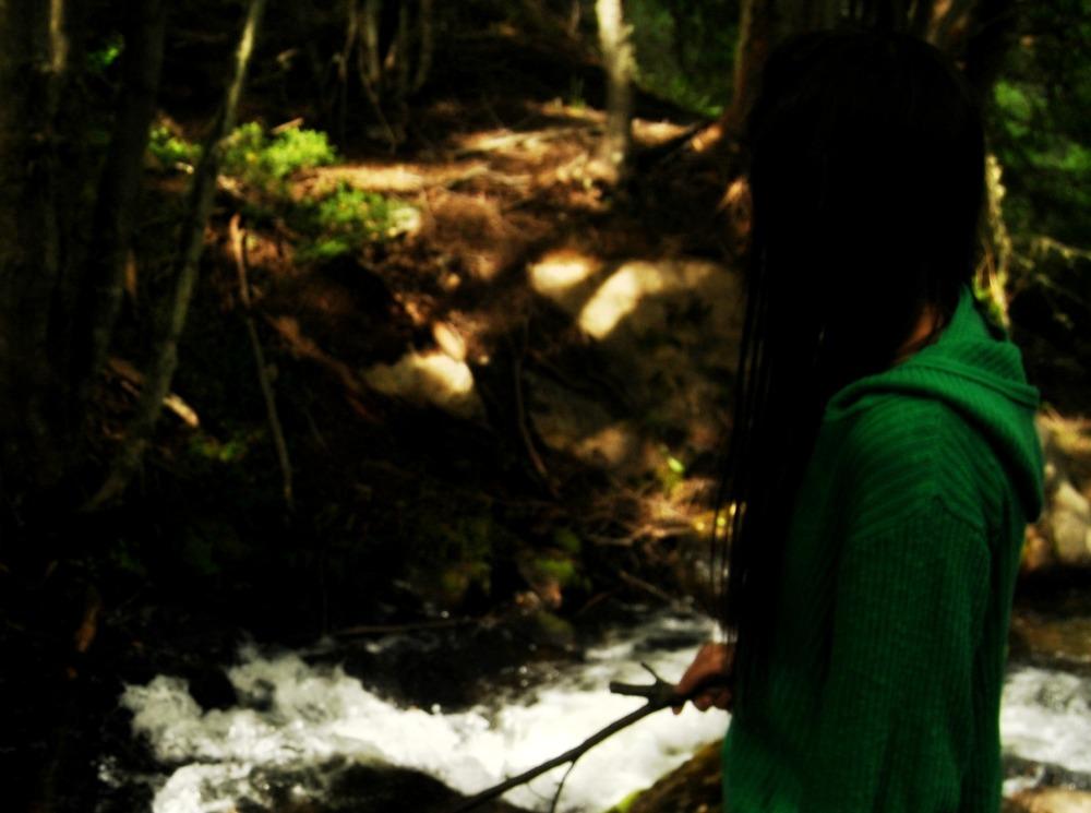 de otro lado que no sea el bosque