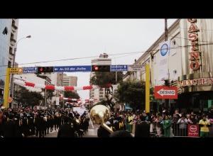 Desfile dominguero, fiesta patria
