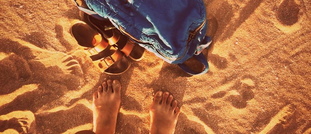 arena y playa