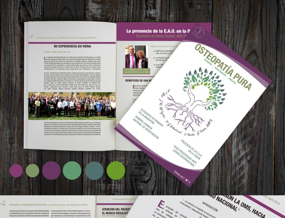 Revista para la difusión de la osteopatía
