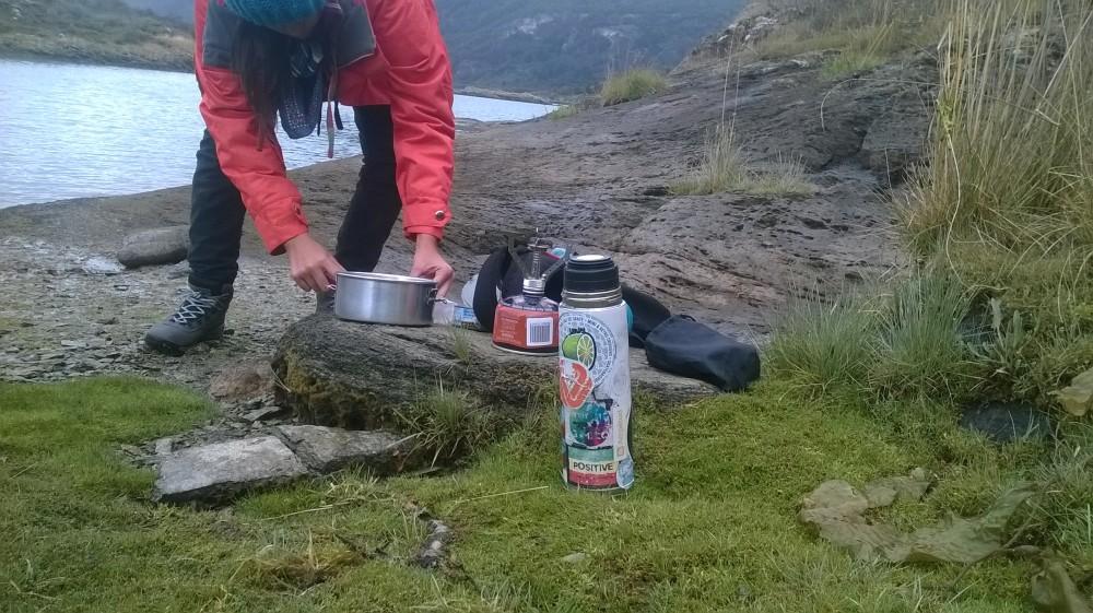 Cocina en la naturaleza