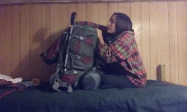 Preparación de mochila para Torres del Paine