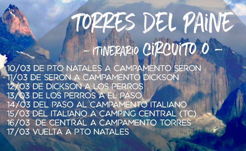 Cómo fue nuestro itinerario de 8 días en Torres del Paine
